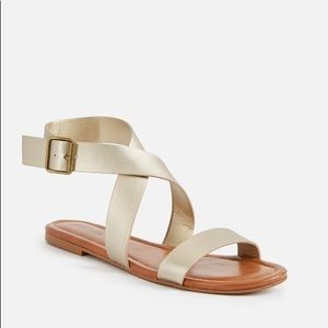 NWT Just Fab sandals